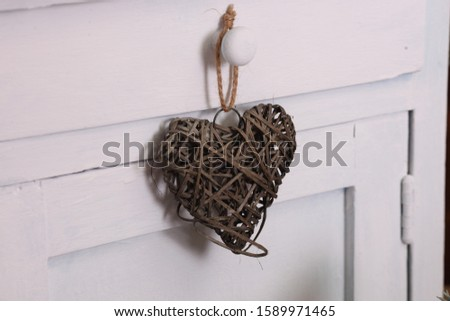 Christmas decoration. Christmas decoration collection on wooden background #1589971465