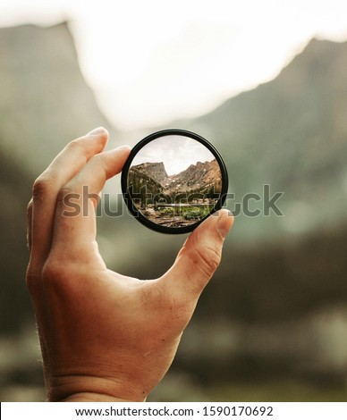 A lens focusing on nature