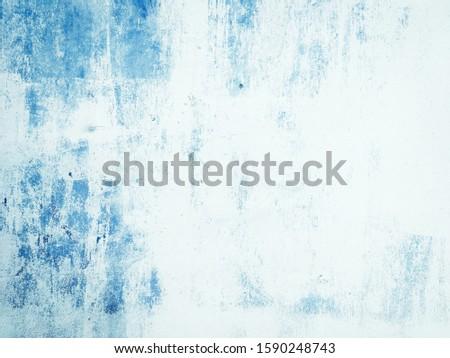 Grunge textured background. Vintage background and backdrop. Background and backdrop of old blue wall. #1590248743