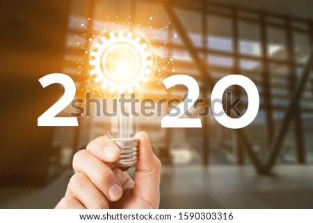 Concept of idea and innovation Creative idea concept #1590303316