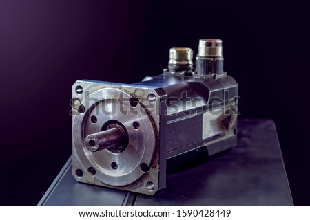 Electric motors (AC servo motor, DC brush-less motor, and stepping motor) #1590428449