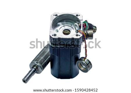 Electric motors (AC servo motor, DC brush-less motor, and stepping motor) #1590428452