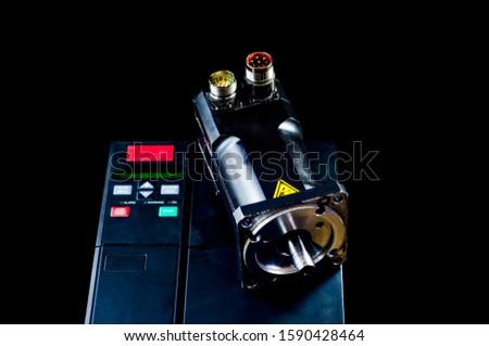 Electric motors (AC servo motor, DC brush-less motor, and stepping motor) #1590428464