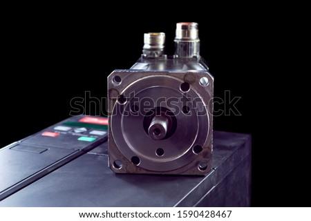 Electric motors (AC servo motor, DC brush-less motor, and stepping motor) #1590428467