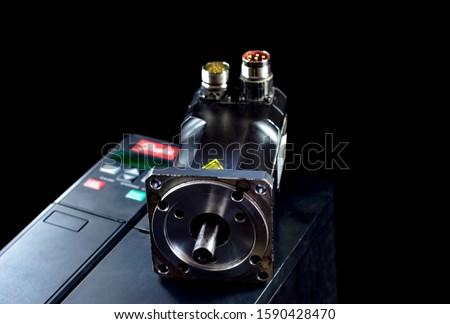 Electric motors (AC servo motor, DC brush-less motor, and stepping motor) #1590428470