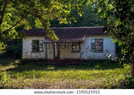 Ruins photographed in Linhares, Espirito Santo. Southeast of Brazil. Atlantic Forest Biome. Picture made in 2015. #1590525955