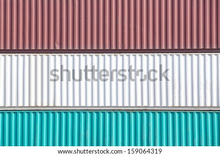 Containers shipping  #159064319