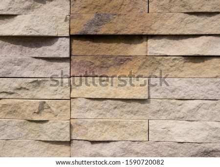 Stone wall background,stone blocks and Background of stone wall  #1590720082