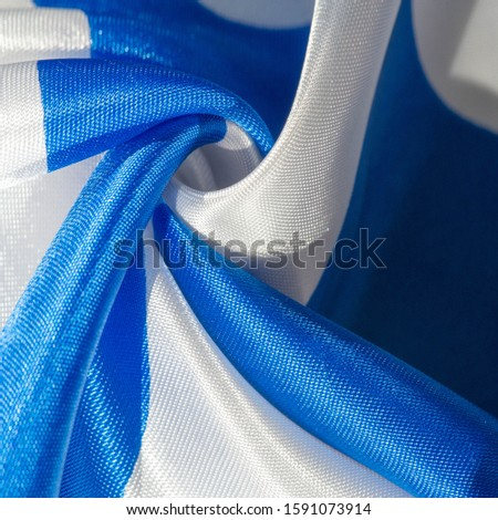 Texture, background, pattern, postcard, silk fabric, blue-white ovals, your projects will not go unnoticed with this fabric, buying this fabric you will be the best #1591073914