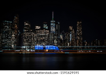 light exposure with nyc skyline #1591629595