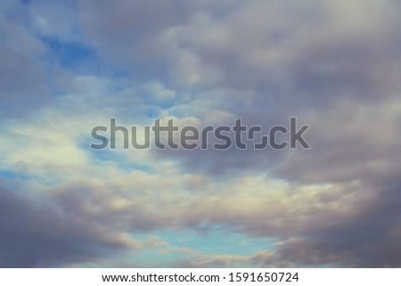 A Soft Cloudscape in the Sky. #1591650724