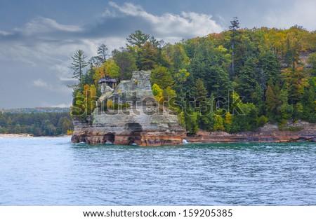 Miner's Castle Pictured Rocks National Lakeshore Pure Michigan Upper Peninsula