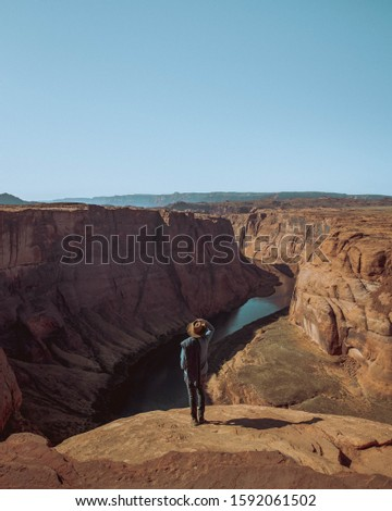 Sharp photos of colorful sandstone cliffs of the Red Canyon in the mountains of Southern Eilat, Israel #1592061502
