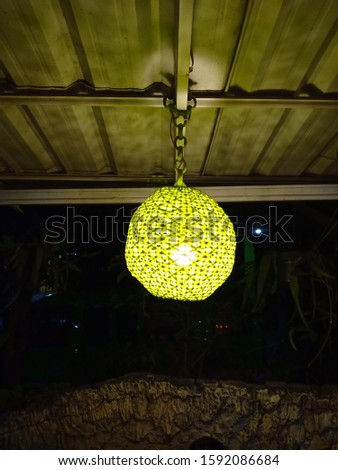 decorative lighting, decorative lighting, less focused photos, this photo was taken at BOGOR INDONESIA on 18 December 2019 #1592086684