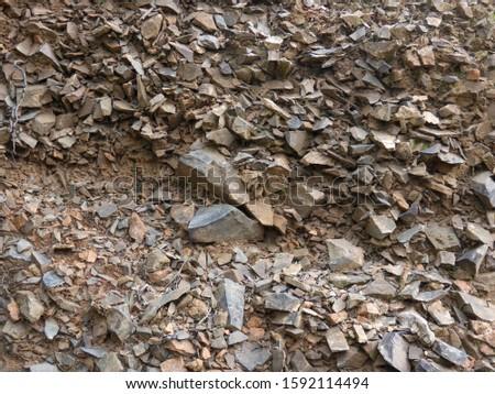 Hard mountain rock of Sardinia #1592114494