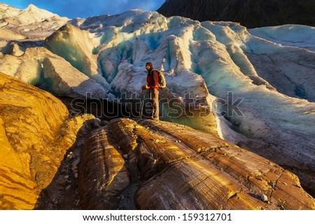 Svartisen Glacier in Norway #159312701