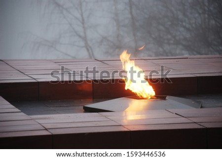 memorial to the unknown soldier and eternal flame #1593446536