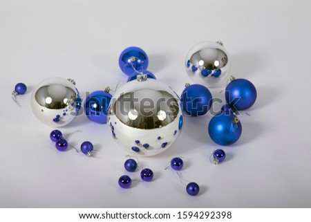 Christmas decoration with color balls #1594292398