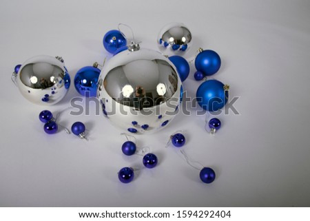 Christmas decoration with color balls #1594292404