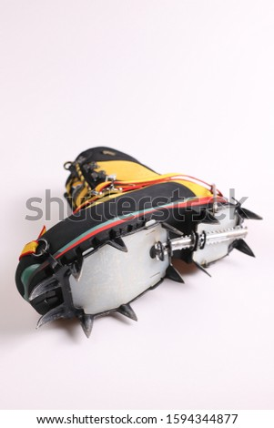 crampon mounting means and crampon set #1594344877