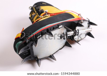 crampon mounting means and crampon set #1594344880