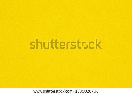 Yellow paper background, colorful paper texture #1595028706