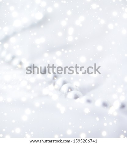 Jewelry branding, elegance and sale concept - Winter holiday jewellery fashion, pearl necklace on fur background, glamour style present and chic gift for luxury jewelery brand shopping, banner design #1595206741