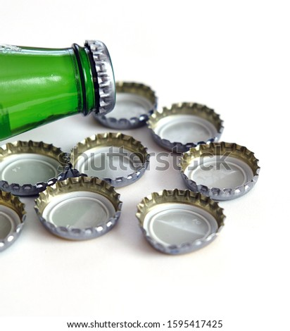mineral water drink, natural mineral water bottle and cap, #1595417425
