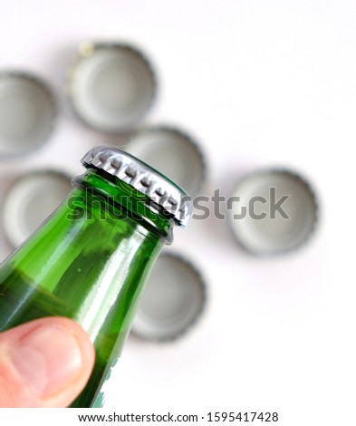 mineral water drink, natural mineral water bottle and cap, #1595417428