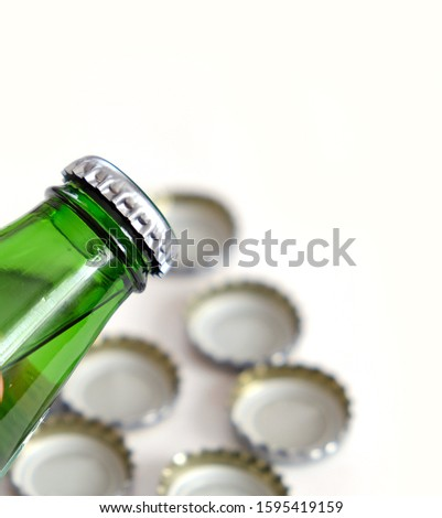 mineral water drink, natural mineral water bottle and cap, #1595419159