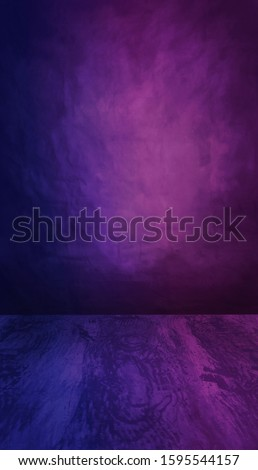 Fashion, new retro wave style backdrop to use with your product  photoshoot. Suitable with gel photography lighting