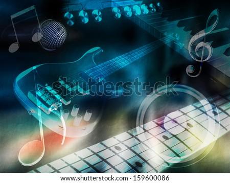 "Background ""music"""
