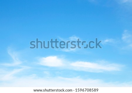 blue sky with cloud  beautiful nature abstract #1596708589