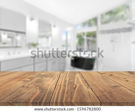 Table Top And Blur Interior of Background #1596782800