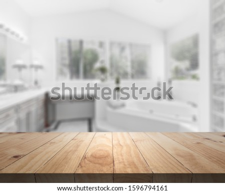 Table Top And Blur Interior of Background #1596794161