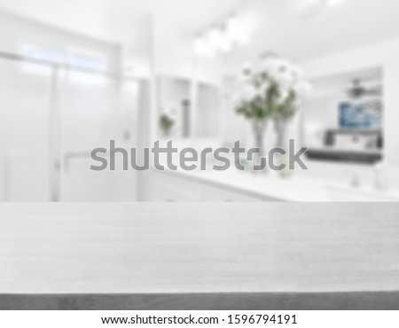 Table Top And Blur Interior of Background #1596794191