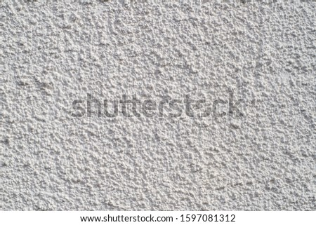 texture of white plaster wall #1597081312