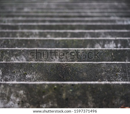 Stairs. Abstract steps. Stairs in the city. Granite stairs. Stone stairway often seen on monuments and landmarks, wide stone stairs. Royalty-Free Stock Photo #1597371496