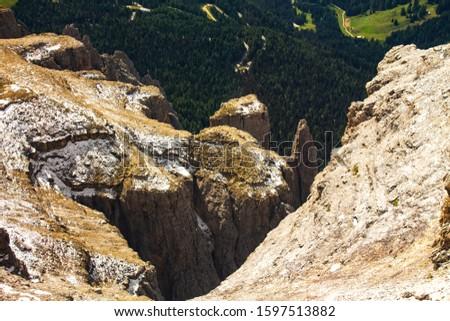 Pordoi - Dolomites mountain pass Italy Alps #1597513882