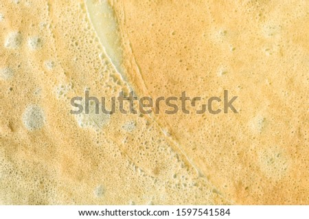 Top View Pancake Texture. Abstract Background