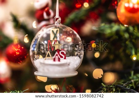Christmas tree decoration cristal decoration #1598082742