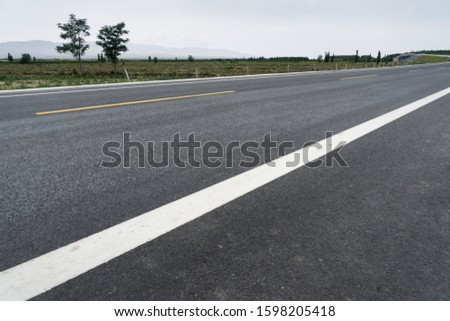 Winding roads, highways;The endless national highway #1598205418