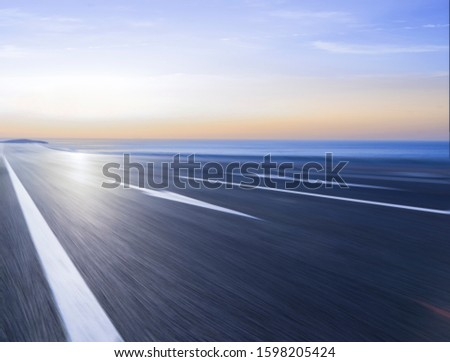 Winding roads, highways;The endless national highway #1598205424