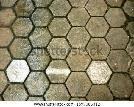 grunge background. abstract halftone wall. Distressed overlay texture of rusted peeled metal #1599085312