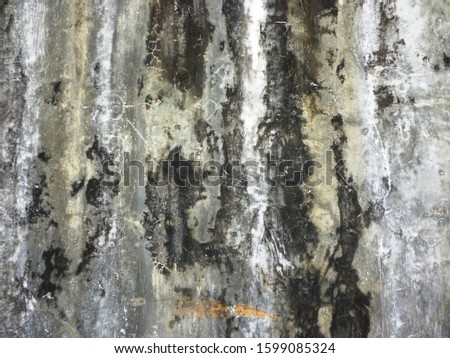 grunge background. abstract halftone wall. Distressed overlay texture of rusted peeled metal #1599085324