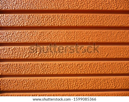 grunge background. abstract halftone wall. Distressed overlay texture of rusted peeled metal #1599085366
