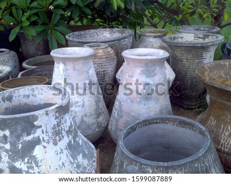 decorative items nice pot art interior #1599087889
