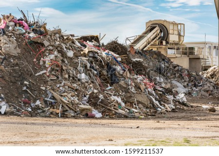 Construction material recycling plant with machinery for your selection #1599211537
