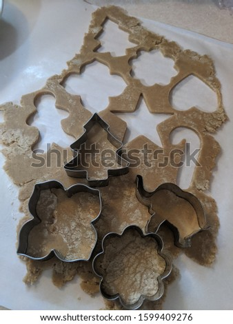 Cookie Cut Outs of shapes