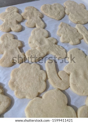 Baked Sugar Cookie Cut Outs
